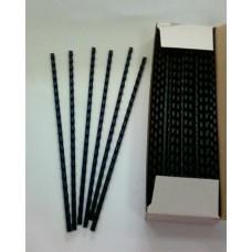Пружины Plastic 10 мм черные 100шт