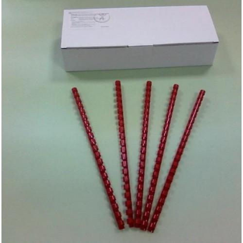 Пружины Plastic 10 мм красные 100шт