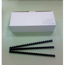 Пружины Plastic 12 мм черные 100шт