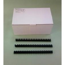 Пружины Plastic 19/20 мм черные 100шт