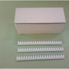 Пружины Plastic 22 мм белые 50шт