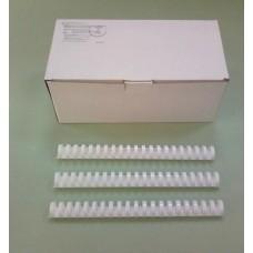 Пружины Plastic 25 мм белые 50шт