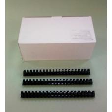 Пружины Plastic 25 мм черные 50шт