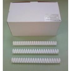 Пружины Plastic 32 мм белые 50шт