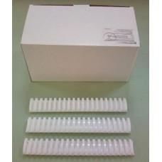 Пружины Plastic 45 мм белые 50шт