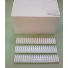 Пружины Plastic 51 мм белые 50шт