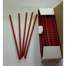 Пружины Plastic 8 мм красные 100шт