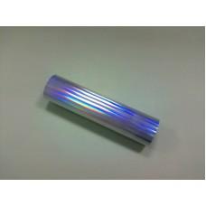 Фольга голографическая серебро-спектр (0,2 х 60м) Crown Roll Leaf №54