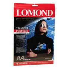 Термотрансфер А4 струйный для темных тканей Lomond (50л) 0808425