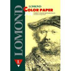 Бумага А4 160г/м2 светло-желтый Lomond (250л) 1004302