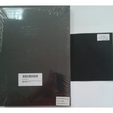 Обложка Картон Кожа А4 черный 100л