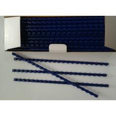 Пружины Plastic 8 мм синие 100шт