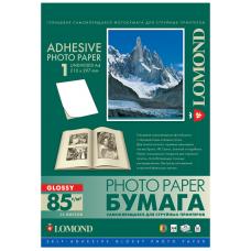Наклейка А4 неделеная глянец струйная Lomond (25л) 2410003