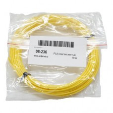 PLA пластик желтый, 10м
