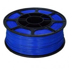 PLA пластик синий, 1кг