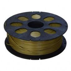 PLA пластик золото 1кг для 3D принтера