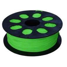 PLA пластик зеленый флуоресцентный 1кг для 3D принтера