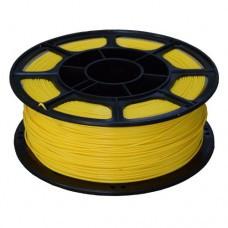 PLA пластик желтый 1кг для 3D принтера