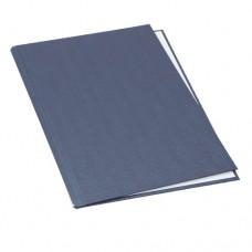 Твердые обложки O.HARD COVER Classic А4 304x212 мм с покрытием ткань синие 20 штук-10 пар