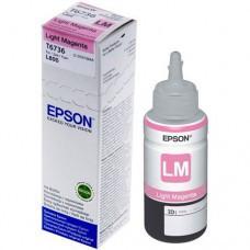 Контейнер со светло-пурпурными чернилами Epson Light Magenta ink for L800