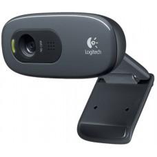 Вебкамера Logitech HD Webcam C270, USB 2.0, 1280*720, Mic, Black