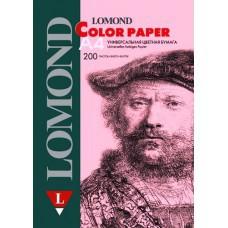 Бумага А4  80г/м2 Pastel Pink Розовый Lomond (200л) 1004211