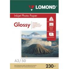 Бумага А3 230г/м2 глянцевая Lomond (50л) 102025