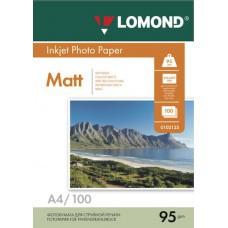 Бумага А4  95г/м2 матовая Lomond (100л) 0102125