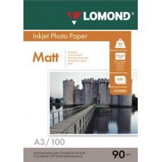 Бумага А3 90г/м2 матовая Lomond (100л) 102011