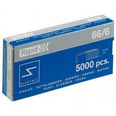 Скобы степлерные Rapid 66/6 5000шт RPD5520
