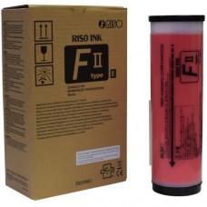 Краска RISO F II красная 1л (о)  S-8114E