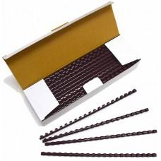 Пружины Plastic 8 мм коричневые 100шт