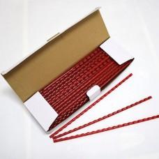 Пружины Plastic 6 мм красные 100шт